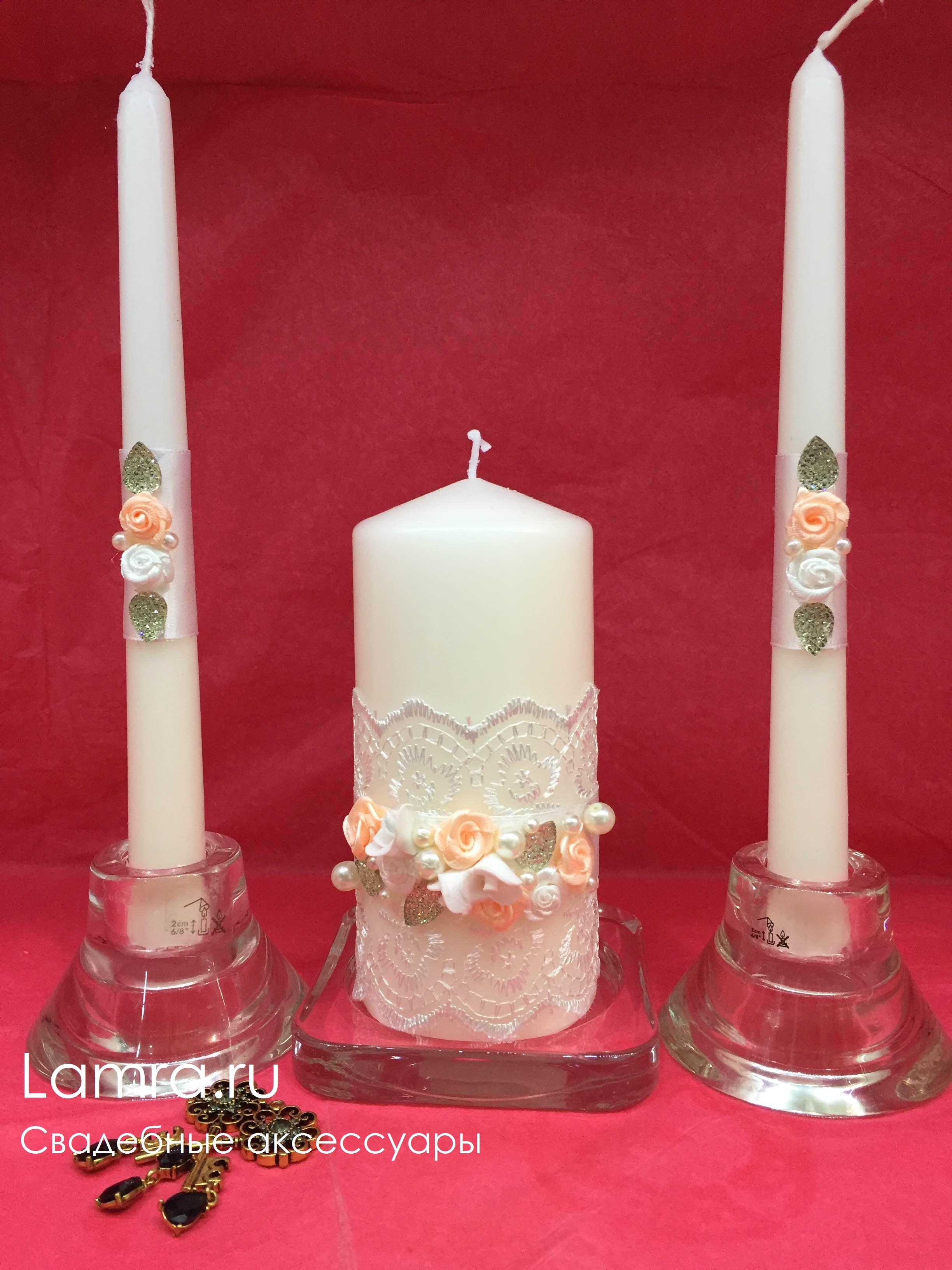 Свадебный очаг свечи своими руками фото