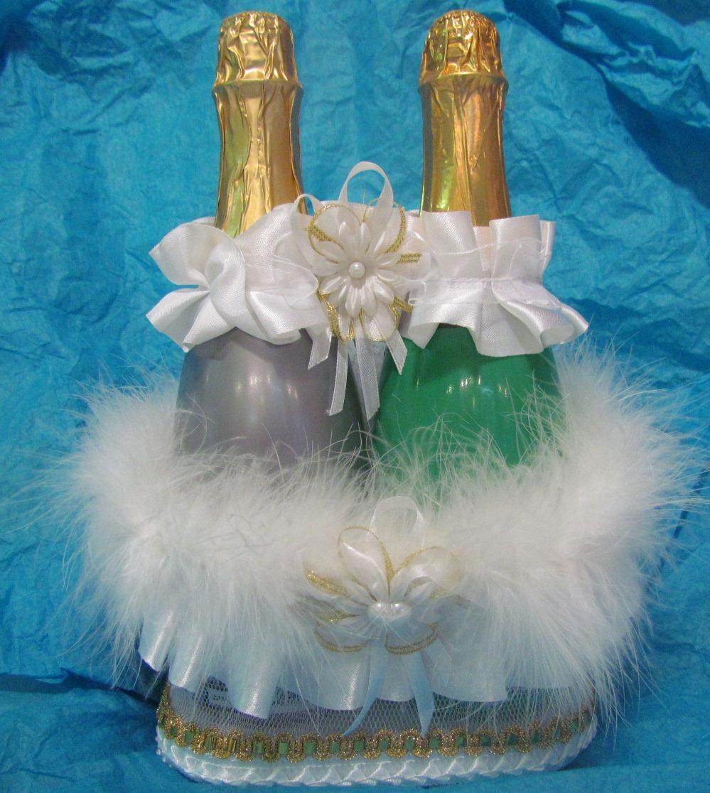 Как сделать корзинку для шампанского